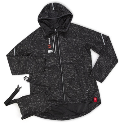 Women's Reflective & Packable Windbreaker