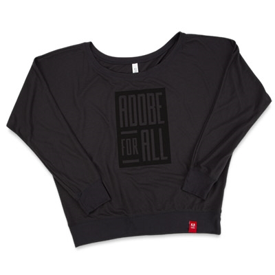 Women's Adobe For All Flowy Tee