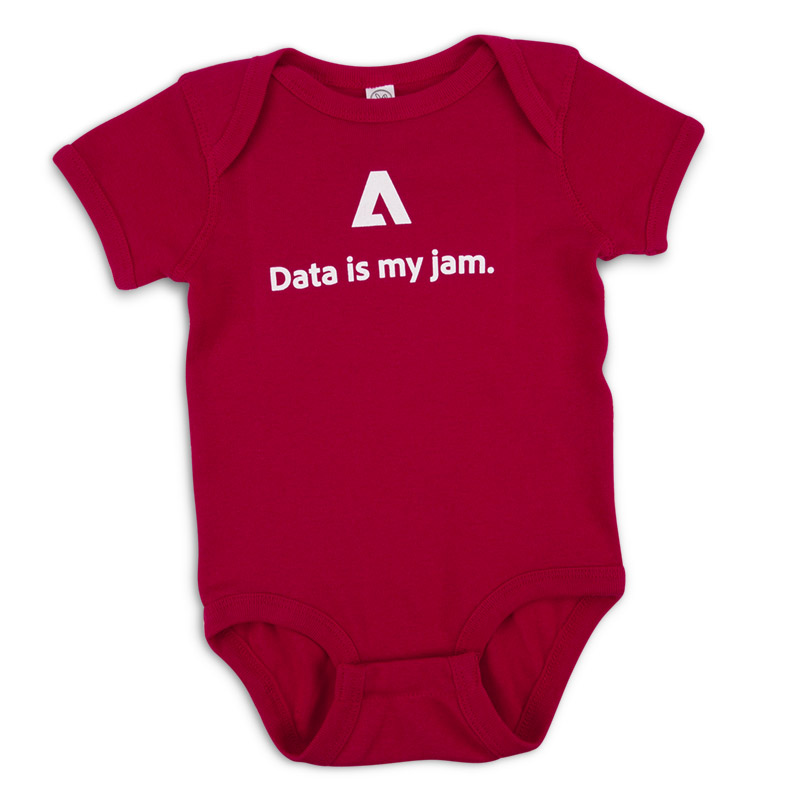 Data is My Jam Baby One-Piece