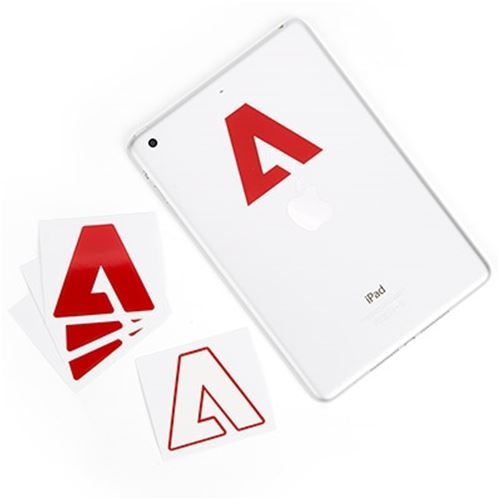 Adobe A Sticker
