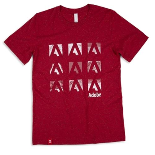 Unisex Adobe Logo Speckled Tee