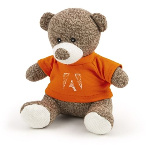 Brown Knitted Teddy Bear