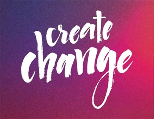 Create Change Sticker